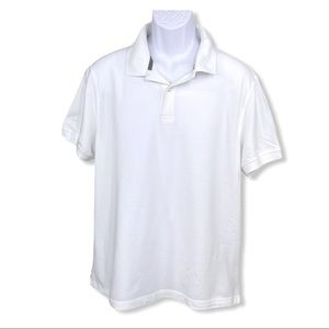 Club Room Performance Short Sleeve Polo Size Large